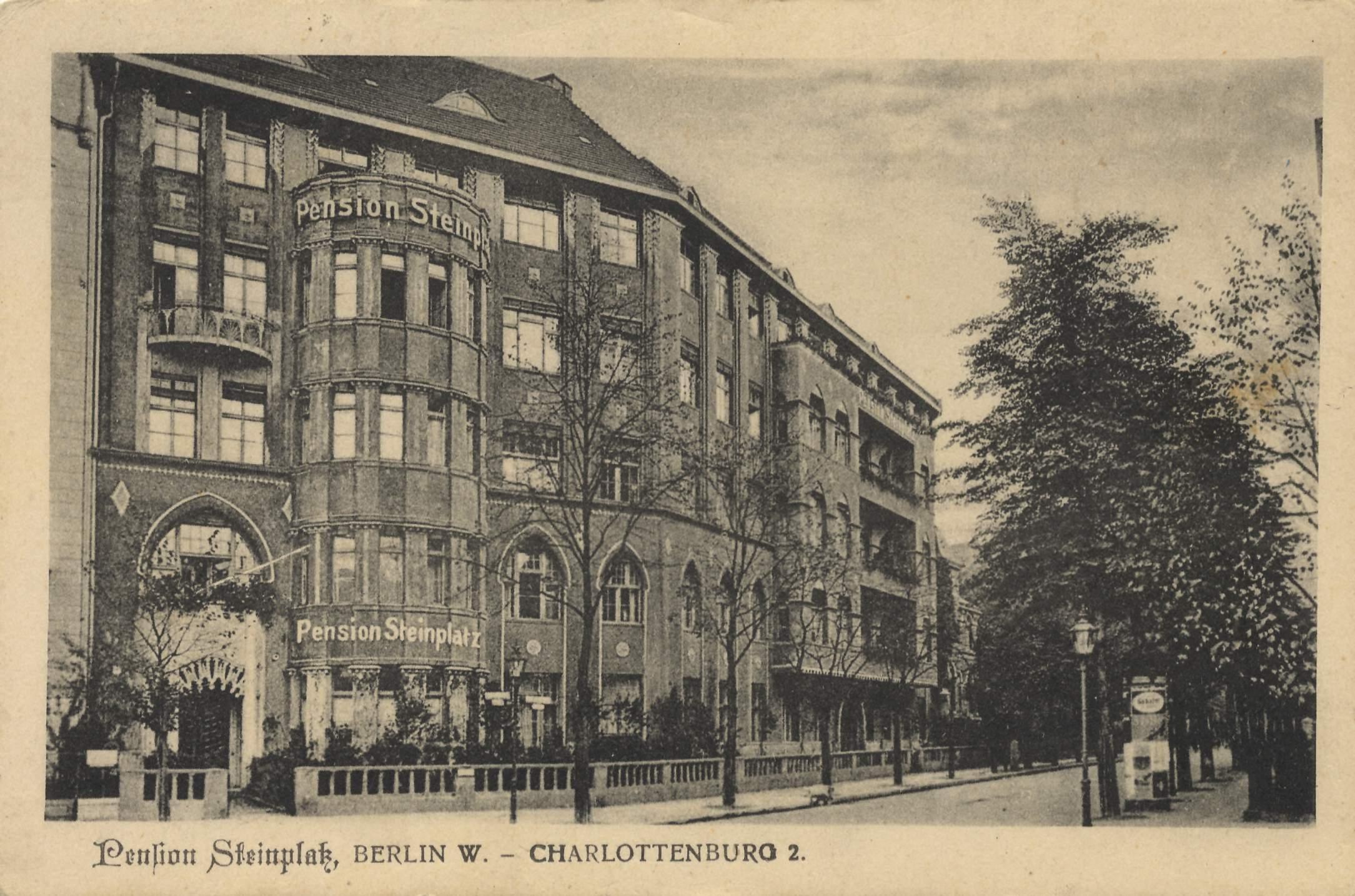 Berlin, Uhlandstraße 197: Pension Steinplatz